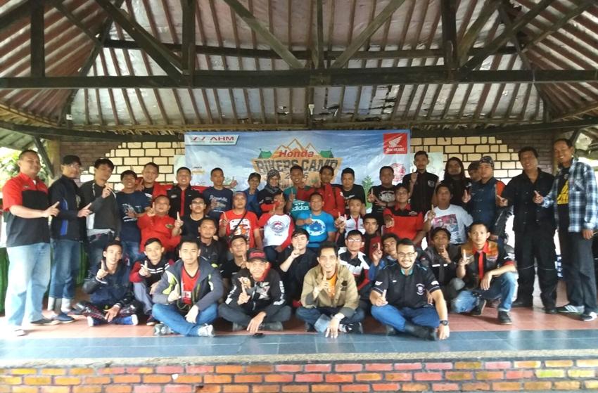 Komunitas Honda Gelar Bikers Camp Management