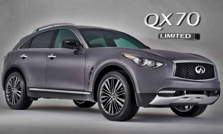 Infiniti QX70 Limited Edition