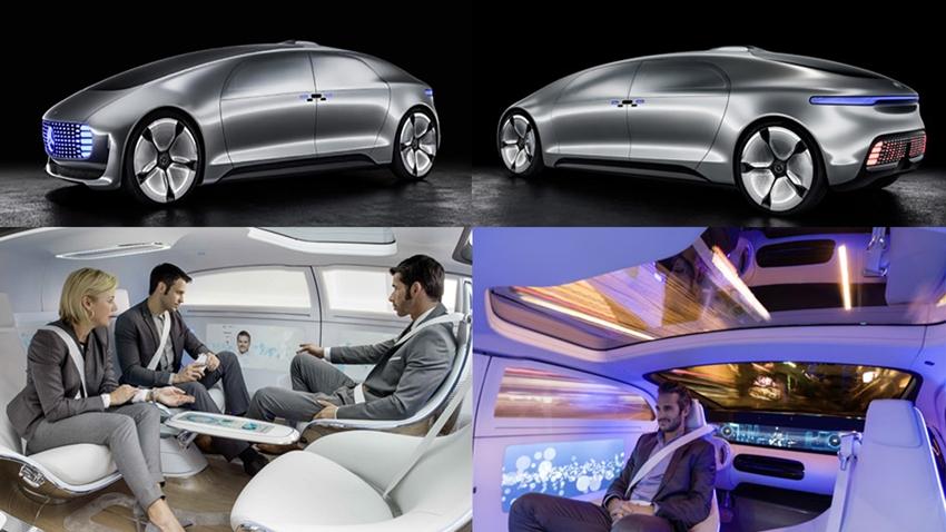 Konsep Mobil Otonom Mercedes-Benz