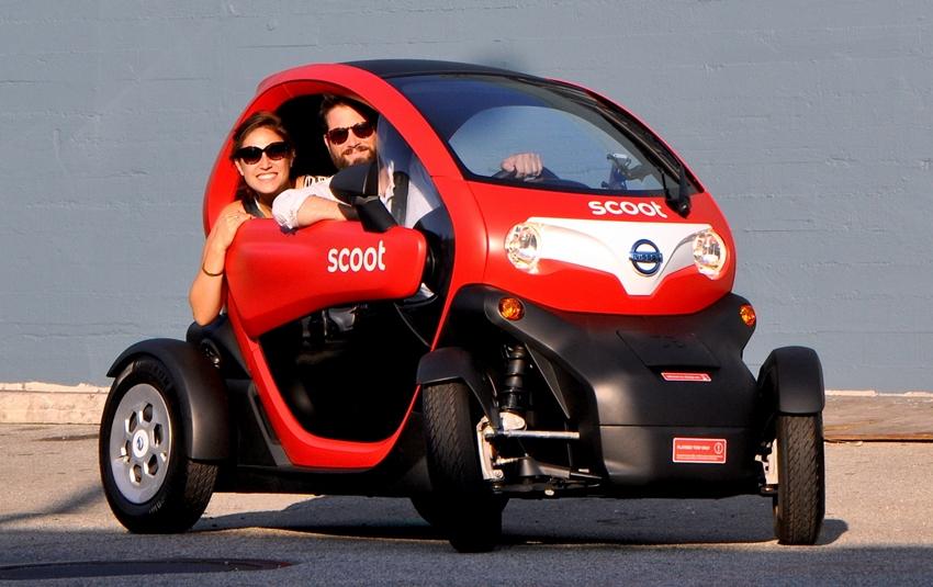 Nissan Scoot Mobil Mungil Tanpa Emisi Garapan Nissan