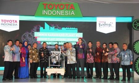 Toyota Bangun Pabrik Mesin Baru di Karawang