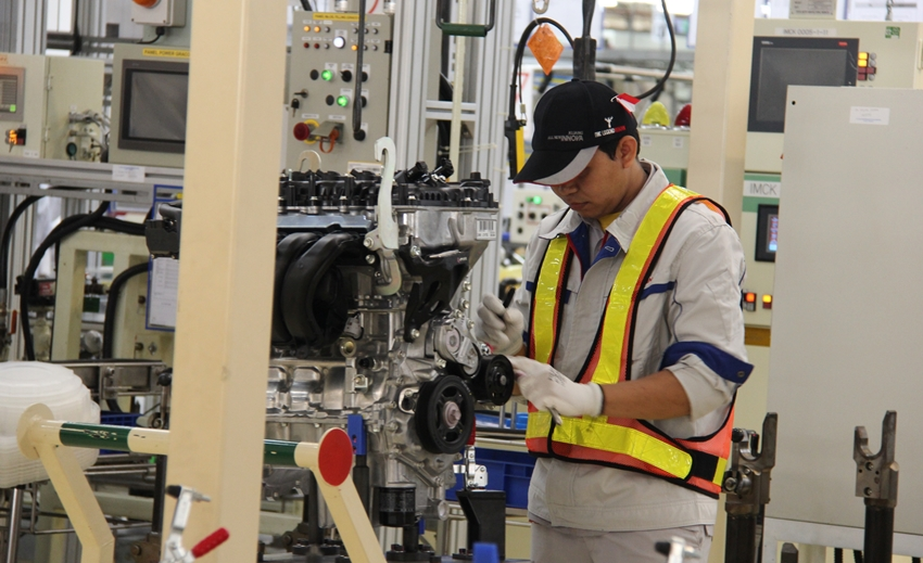 Produksi 216.000 Mesin per Tahun