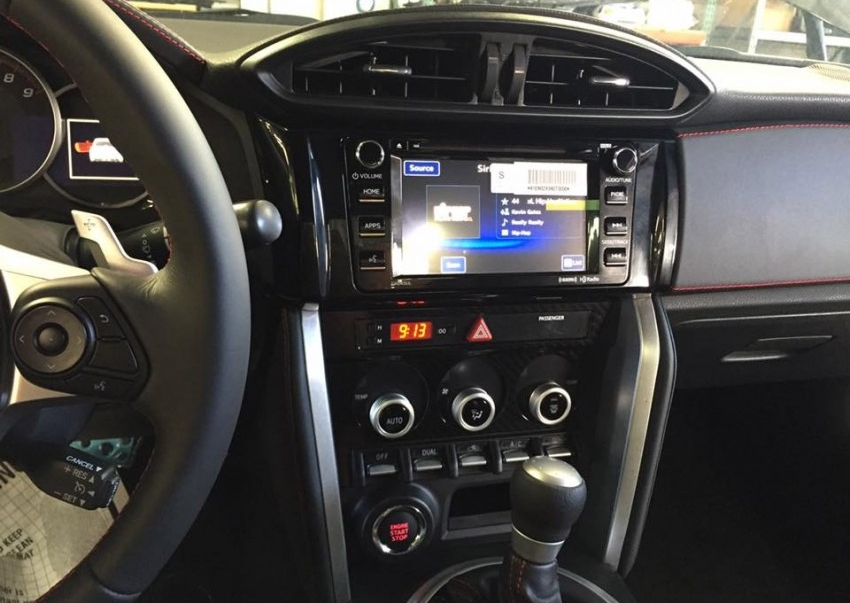 Spyshoot Interior Subaru BRZ Facelift