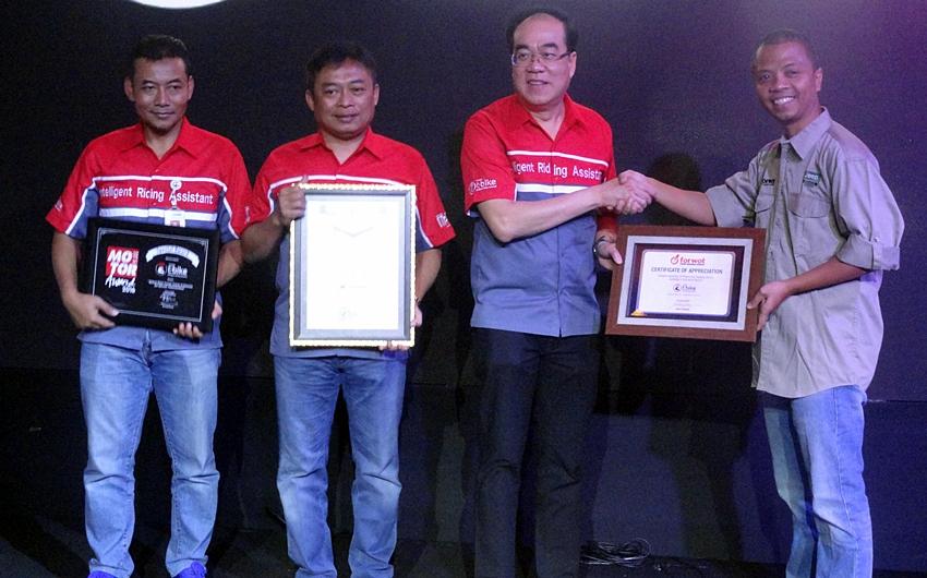 Penghargaan dari FORWOT
