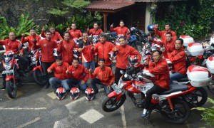 Touring Safety Riding Ala Mekanik Honda