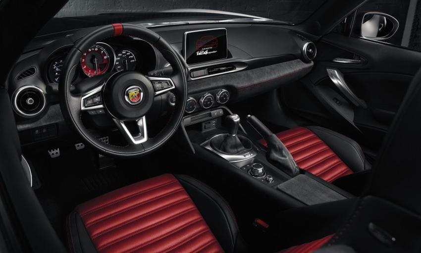 Interior Kombinasi Merah dan Hitam