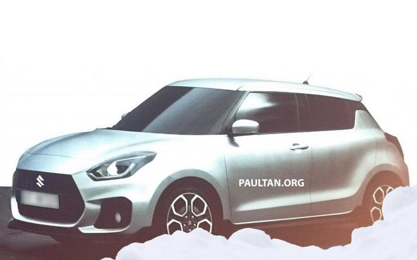 Generasi Terbaru Suzuki Swift