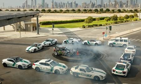 Aksi Ken Block Terbaru dengan Kepolisian Dubai