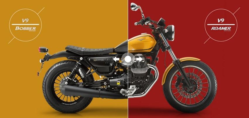 Harga Moto Guzzi V9 Bobber dan V9 Roamer