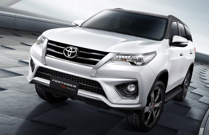 Toyota All New Fortuner Trd Sportivo Tersedia Pilihan 2wd