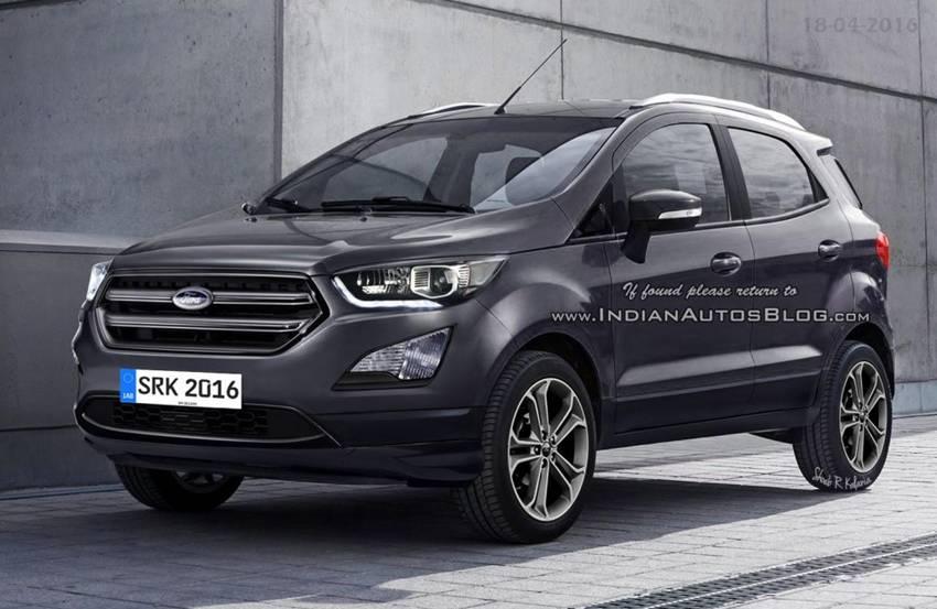Форд Экоспорт (Ford Ecosport) 2017 купить в Москве ...