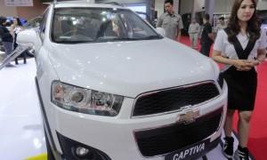 Chevrolet Captiva Diskon Rp 50 Juta di IIMS 2016