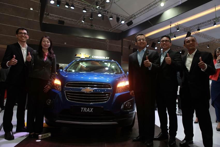 100 Unit Chevrolet Trax Dikirim ke Konsumen