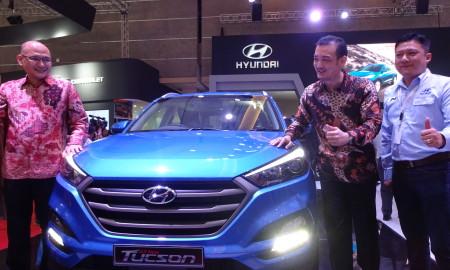 Hyundai All New Tucson Mobil Baru Hyundai di IIMS 2016