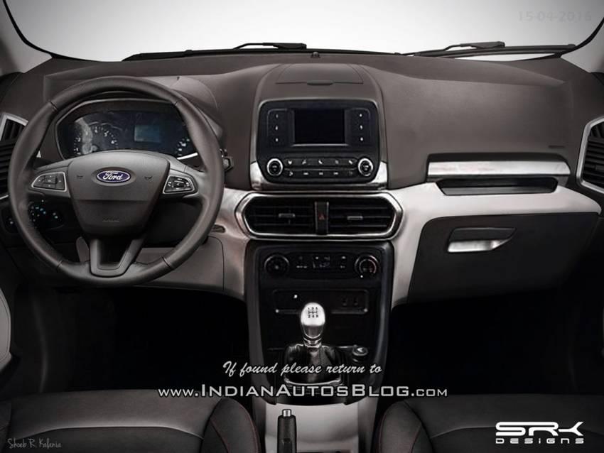 Perkiraan Interior EcoSport Facelift