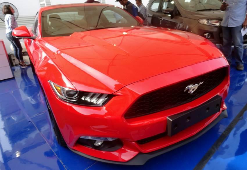 Ford Mustang 2016 Harganya Rp 1,6 Miliar
