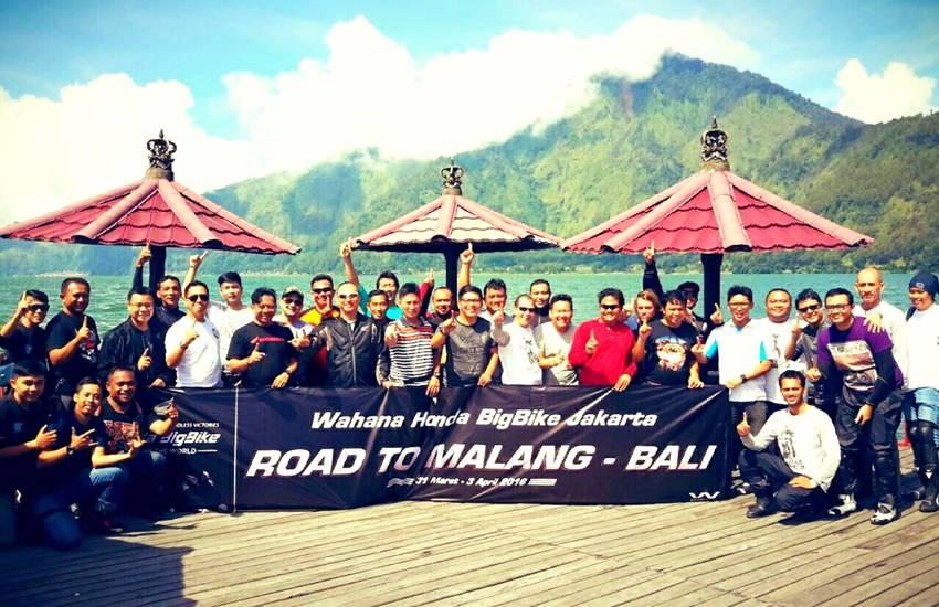 Komunitas Honda Big Bike Jakarta Road To Malang Bali