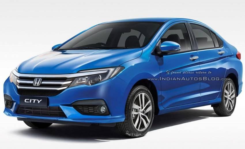 Rendering Honda City Facelift