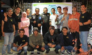 Kutu Community Tebarkan Virus Safety Riding di Pulau Andalas
