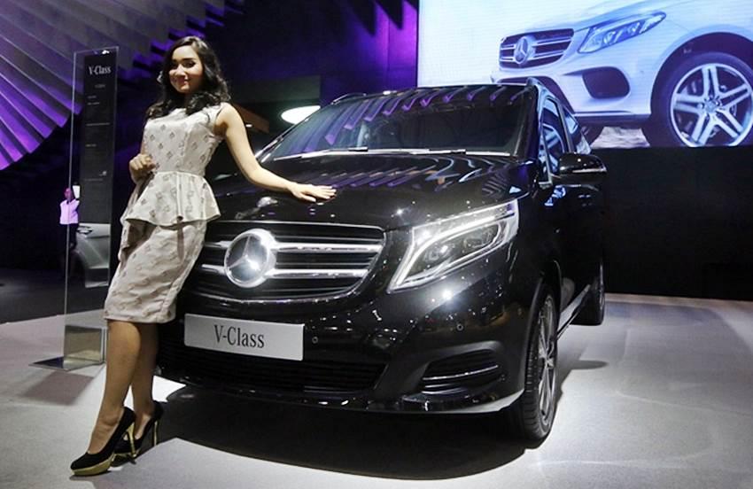New V-Class model terbaru Mercedes Benz Indonesia