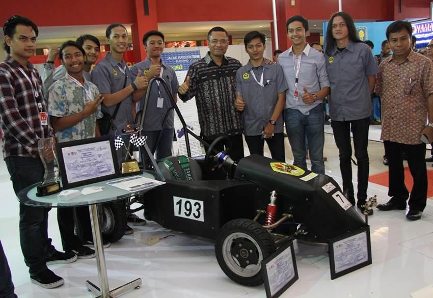 Ada 7 Mobil Listrik Karya Mahasiswa Indonesia di IIMS 2016