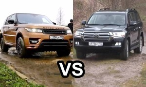 Range Rover Sport versus Toyota Land Cruiser