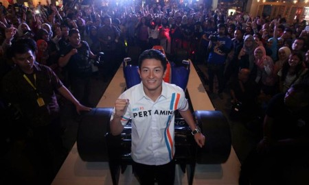 Rio Bikin Fans di Jakarta Histeris