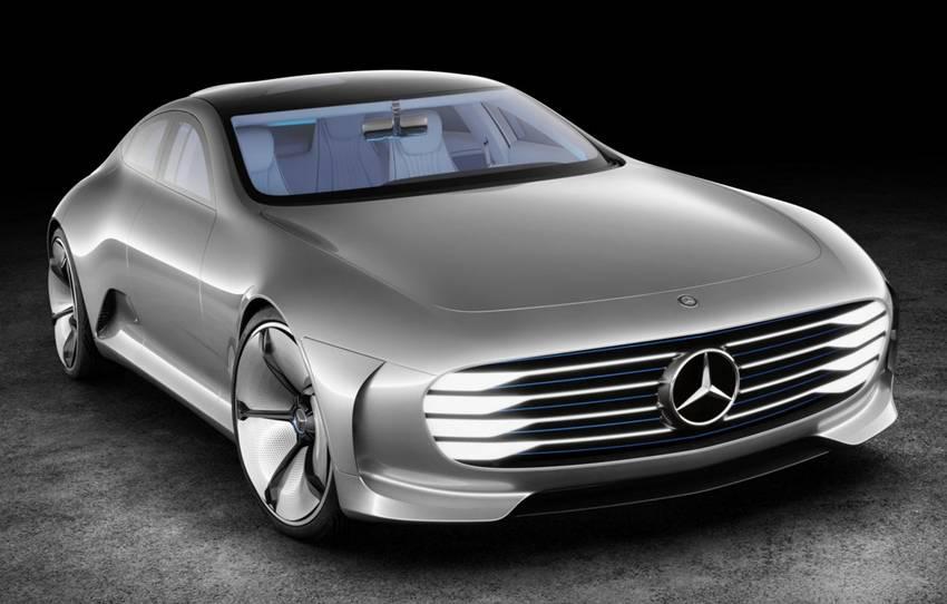 Mobil Listrik Mercedes-Benz