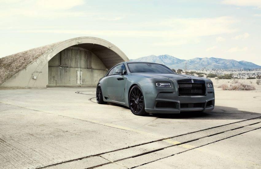 Modifikasi Rolls-Royce Wraith