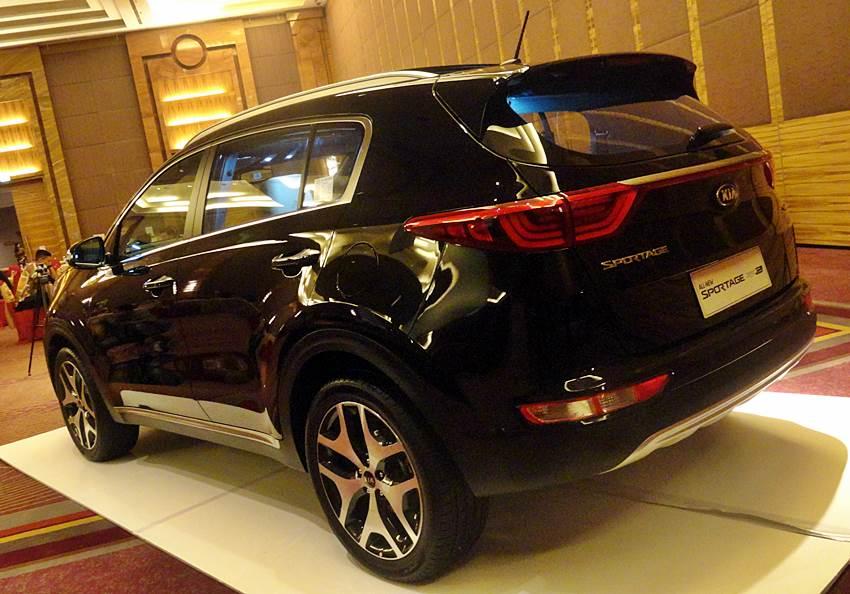 All New Kia Sportage 2016