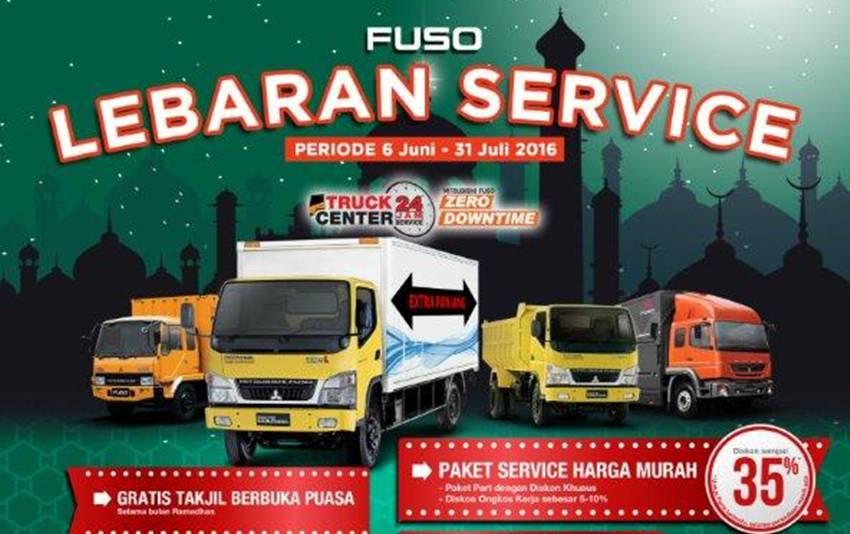 Fuso Service Lebaran