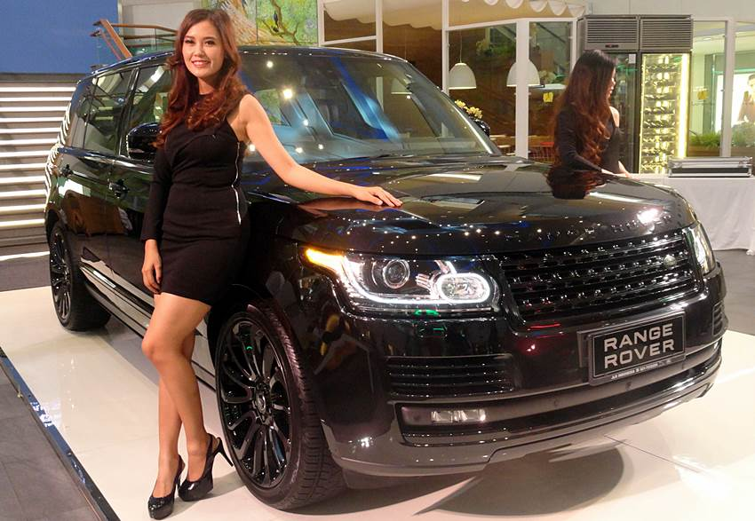 2 range rover terbaru mendarat di indonesia. Black Bedroom Furniture Sets. Home Design Ideas