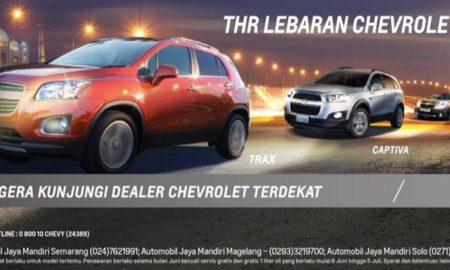 THR Lebaran Chevrolet