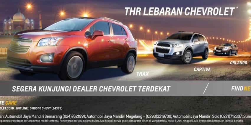 Beli Chevrolet Trax Selama Bulan Puasa Bisa Nyicil Harian