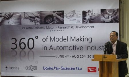 Workshop Clay Modeling Daihatsu