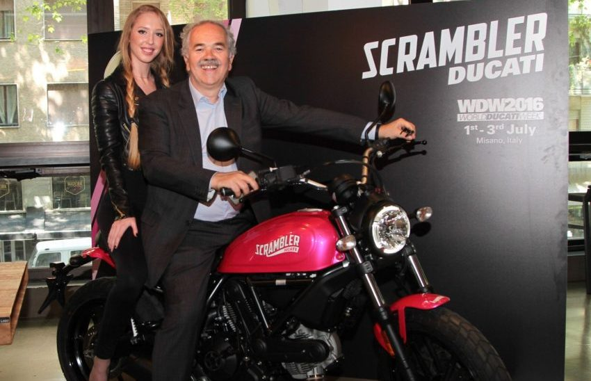 Ducati Scrambler Shocking