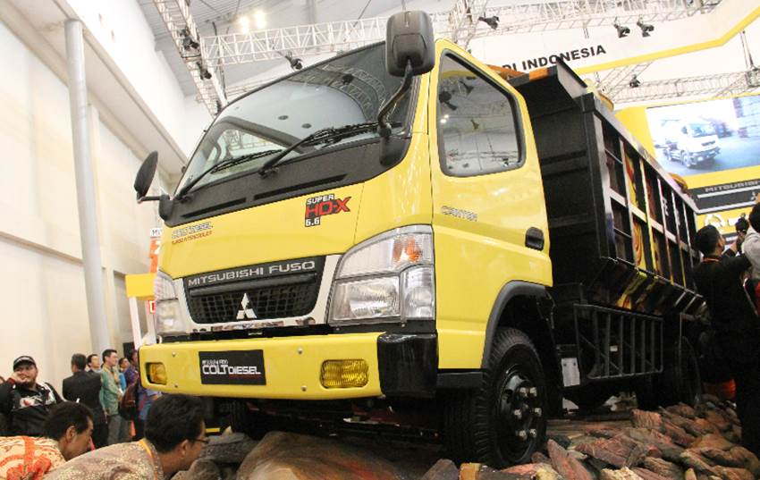 KTB Tawarkan Paket Servis Rp 1 Juta untuk 2 Unit Mitsubishi Colt Diesel
