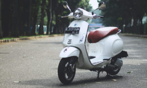 Test Ride Vespa Primavera