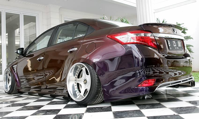 Modifikasi Toyota Vios 2013 - Elegan Agresif - Autos.id