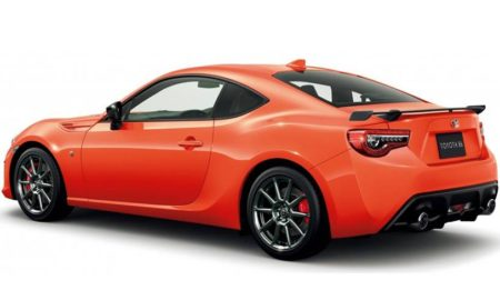Toyota 86 Solar Orange