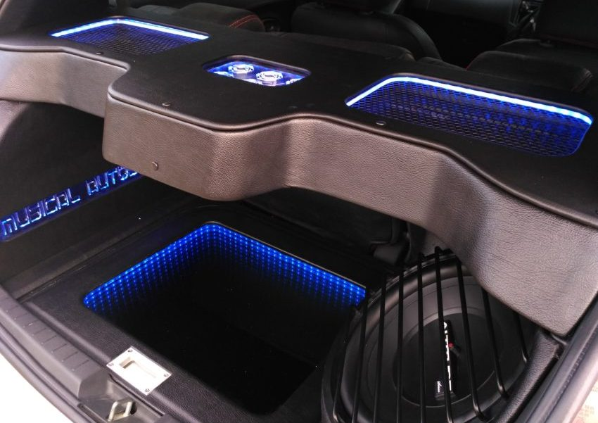 Modifikasi Audio Toyota Yaris