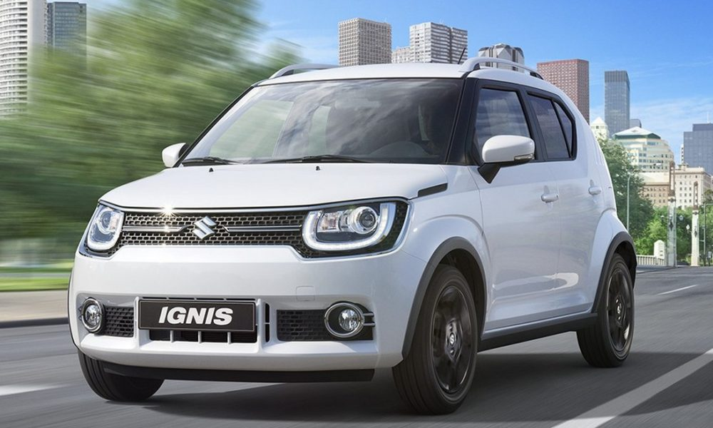 suzuki ignis city car berbumbu suv. Black Bedroom Furniture Sets. Home Design Ideas