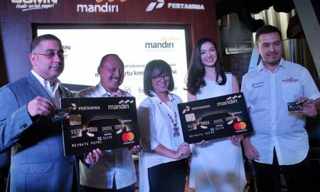Mandiri Kartu Kredit Pertamina Mastercard