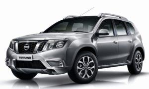 Nissan Terrano Facelift