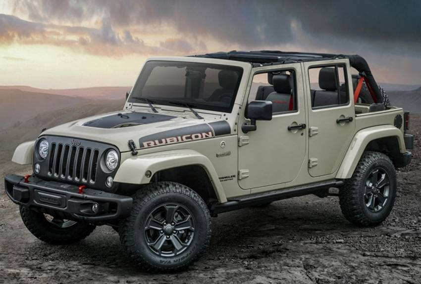 Jeep Wrangler Rubicon Recon