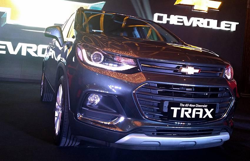 New Chevrolet Trax Kini Dengan Wajah Baru Autos
