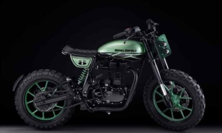 Royal Enfield Classic 500 Green Fly