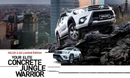 Toyota Hilux 2.4G Limited Edition