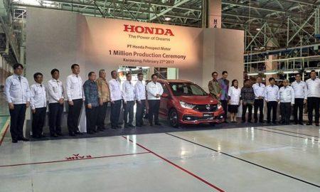 Produksi 1 Juta Unit Honda