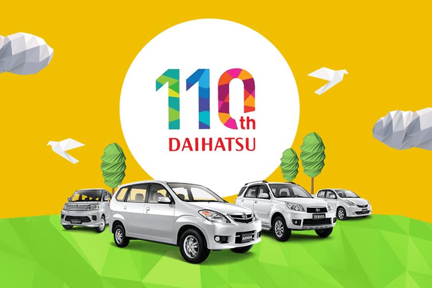 Anniversary 110th Daihatsu